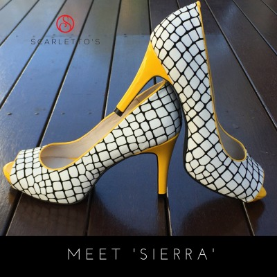 Scarletto's Sierra Mid Heel shoes